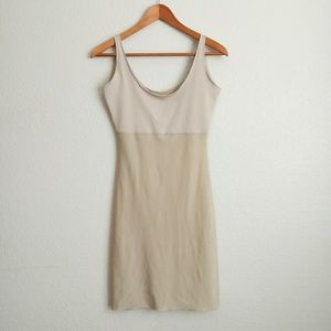 Spanx Nude Shapewear Slip Dress